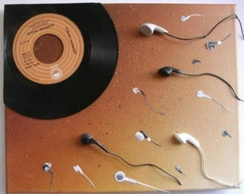 Eggs, New Music, Art, Music Is Life, Funny, Ears, Graphics, Births, Vinyls Records