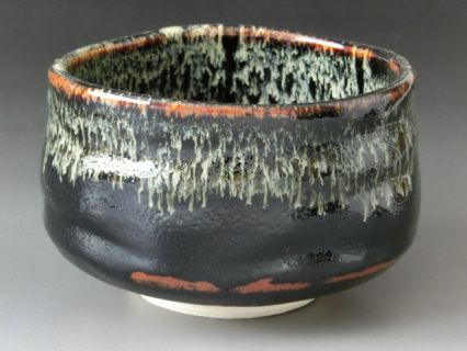 *Size: Width: 4.7inch (12cm) Height:3.15inch (8cm) approx.size     *Material: Japanese ceramics    *Weight: 350g    *Origin: Made in JAPAN     *Note:Japanese Chawan (matcha tea ceremony use)