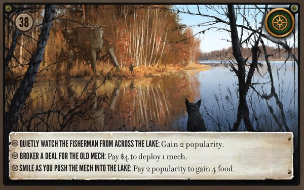 Scythe: Lake Encounter Card