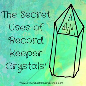 """Record-Keeper crystals have a very unique energy, matched only by their unusual appearance. These crystals can be identified by the appearance of raised or sunken """"record-keeper"""" triangles on the..."""