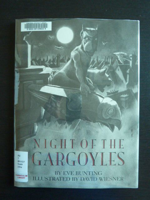 16 best david wiesner images on pinterest childrens books kid night of the gargoyles by eve bunting fandeluxe Images
