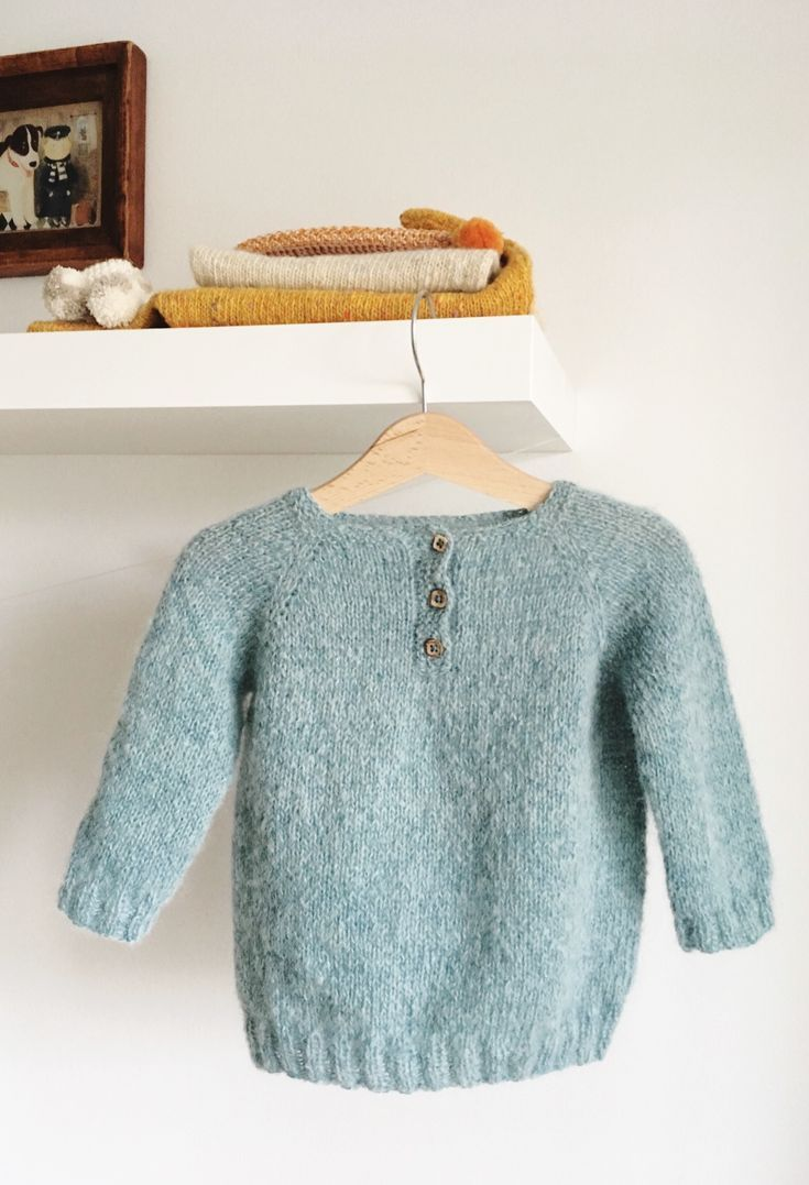 31e588487 Pretty Hand Knitted Baby Toddler Sweater