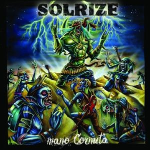 "SOLRIZE.... ""Mano Cornuta""  stoner rock"
