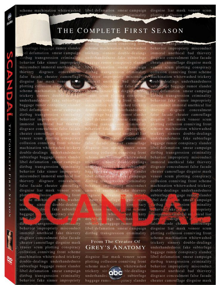 Pin for Later: The Ultimate 2015 Pop Culture Gift Guide  Scandal: Season 1 on DVD ($14)