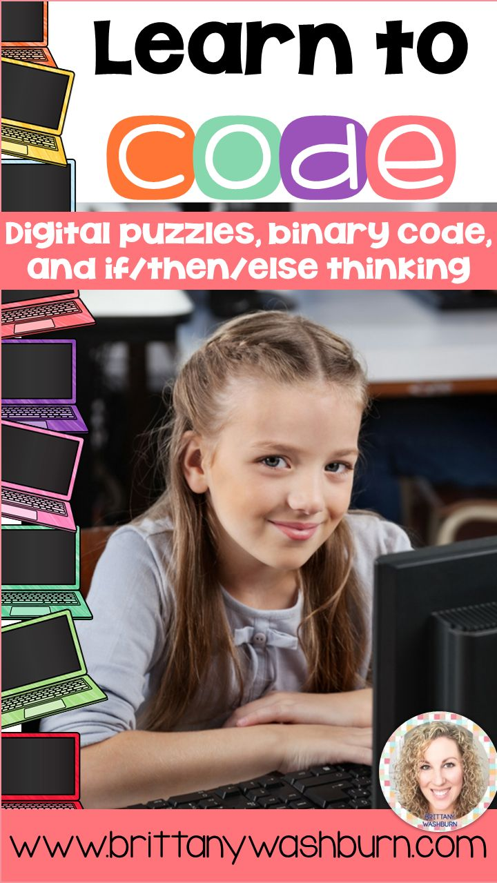 Teaching your students to code is simple with these beginner activities. Kids can practice binary code, puzzles, and coding language without needing to know HTML or any programming language.