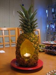 A pineapple centerpiece?