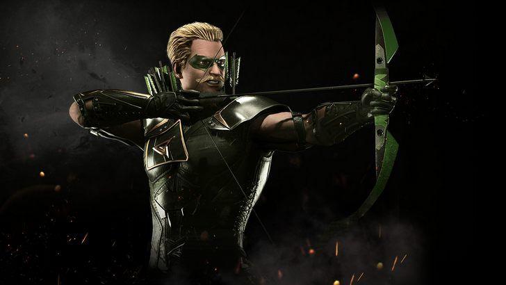 Green Arrow Injustice 2 Game Wallpaper
