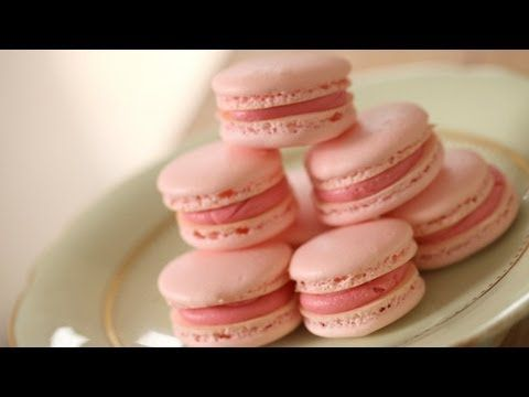 French Macarons Try 17min in oven