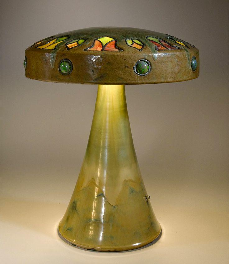 Table Lamp, C. 1910u201326. No. L29, Vasekraft Line,