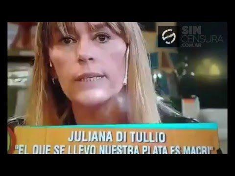 LA DIPUTADA NACIONAL POR EL FPV JULIANA DI TULLIO DESTROZA A MACRI – Sin Censura