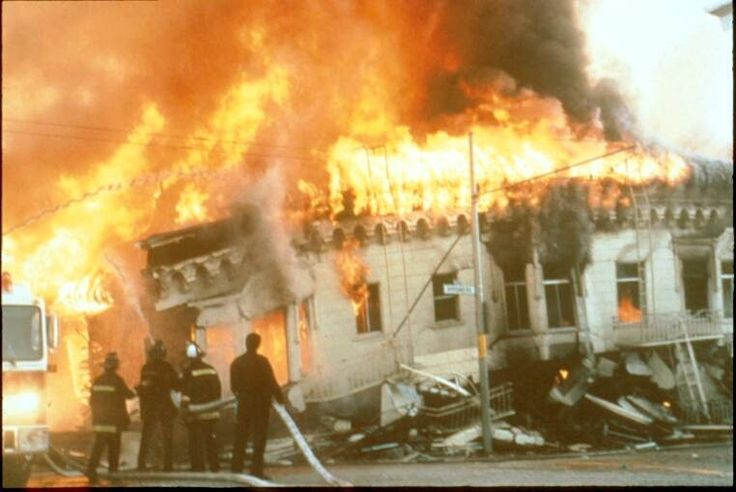 San Francisco Fire Department (CA) 1989 Earthquake and ...