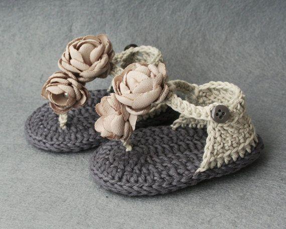 100 Cotton Shabby Chic Crochet Baby by atelierbagatela on Etsy, €19.00