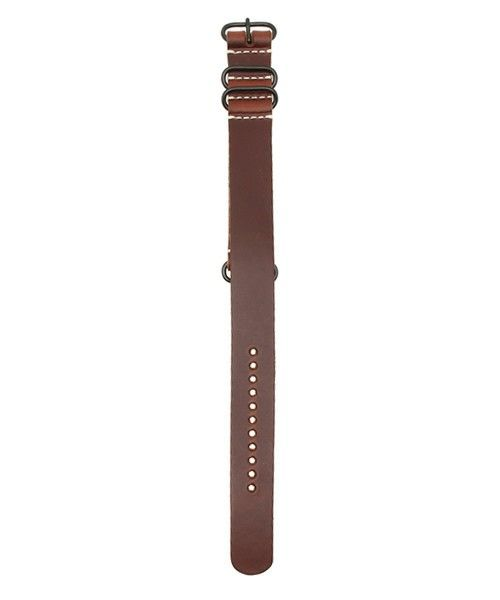 bpr BEAMS(ビーピーアール)のHORWEEN / NATOベルト (腕時計用替えベルト)22mm(腕時計)|ライトブラウン