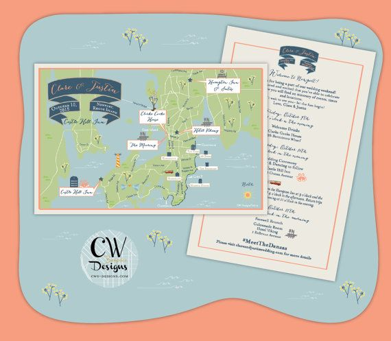 Rhode Island Wedding Invitation Printed: Best 25+ Wedding Maps Ideas On Pinterest