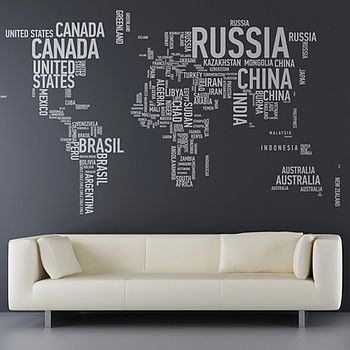 A Different World Wall Sticker