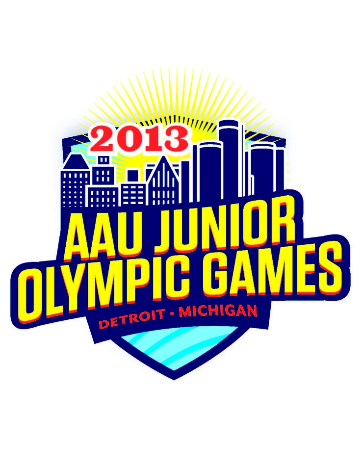 2013 AAU Junior Olympic Games - Detroit, MI - Logo