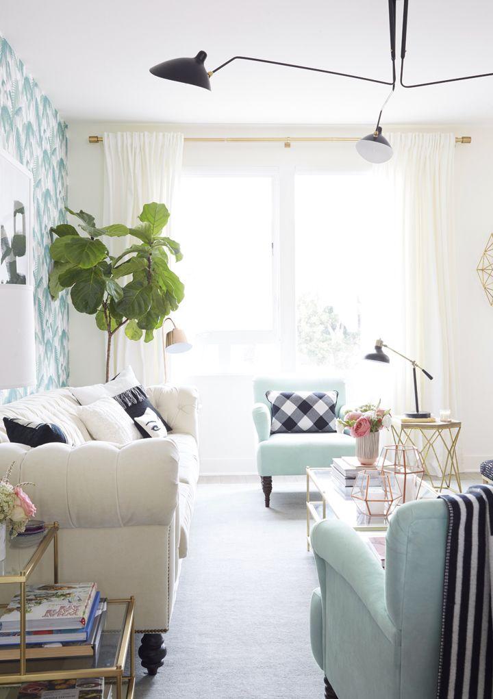 Nicollette Masons Living Room Makeover By Emily Henderson