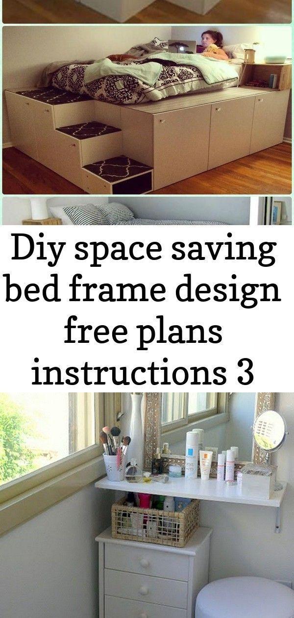 Excellent Snap Shots Diy Space Saving Bed Frame Design Free Plans