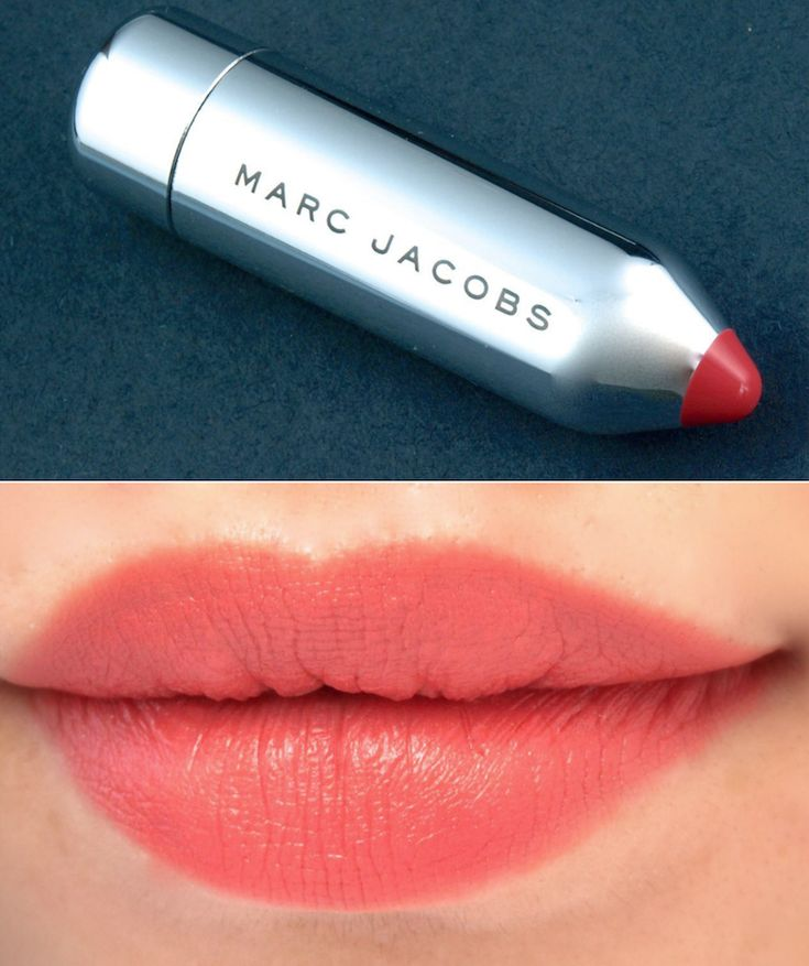 """Marc Jacobs Kiss Pop Lip Color Stick in """"Heartbreaker"""": Review and Swatches"""