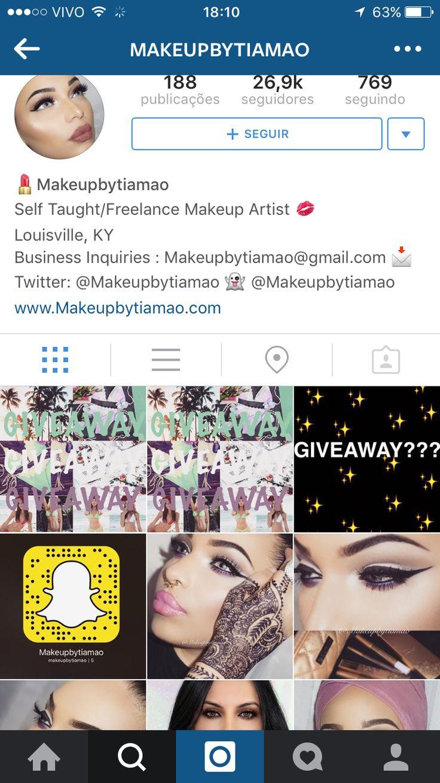 Makeupbytiamao Self Taught/Freelance Makeup Artist