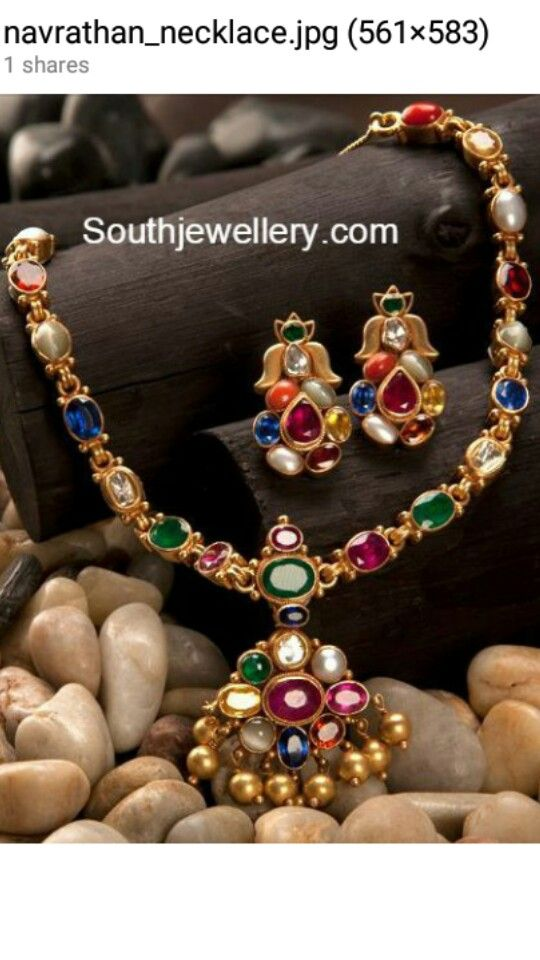 Navarathan necklace