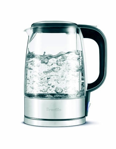 Breville - Crystal Clear Glass Kettle BKE290