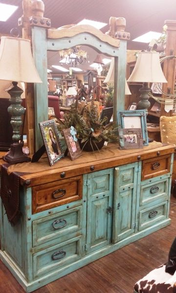 Dresser Wild Wild West Furnishings Home Decor More