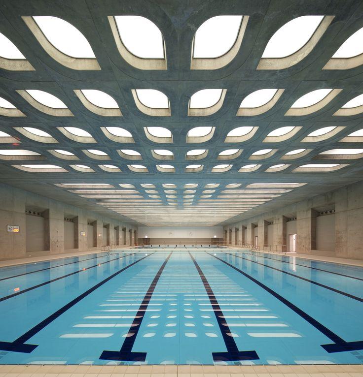 MOVIMENTO SILENCIOSO _ hufton crow london aquatics centre - zaha hadid architects #sport #design #silencio