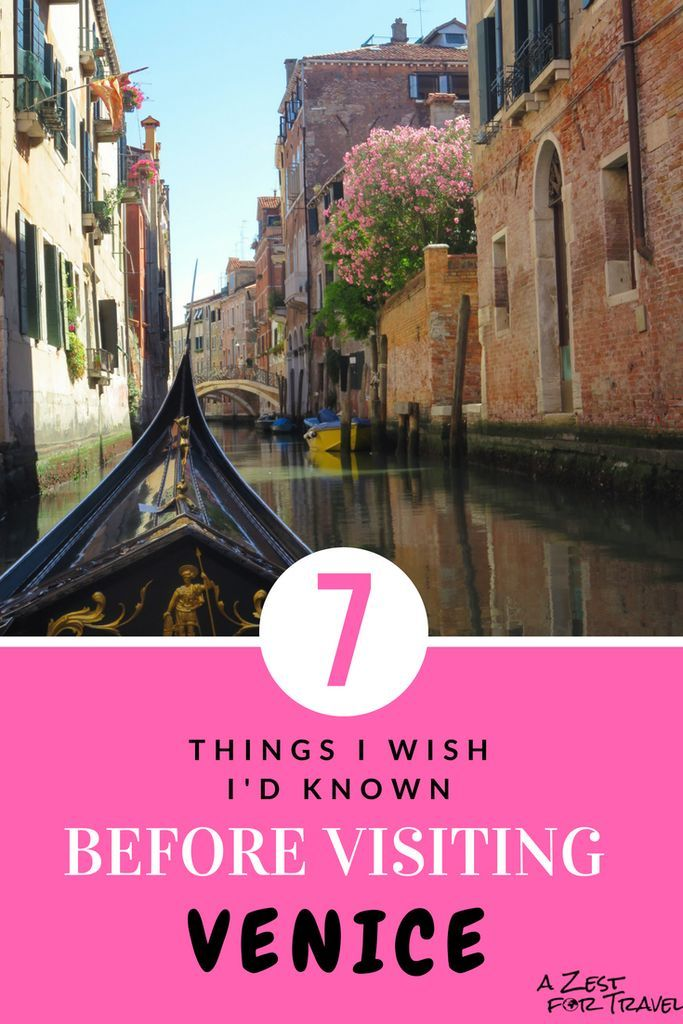 7 Things I Wish I D Known Before Visiting Venice Visit Venice Venice Travel Italy Travel