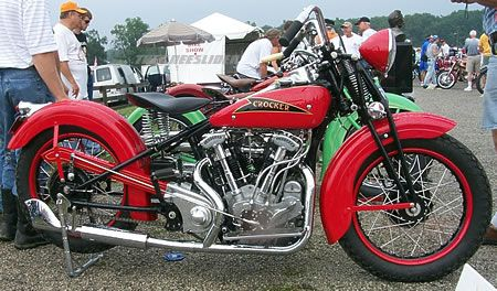 Crocker Motorcycle -Just an all around badass scoot that I'd love to own!