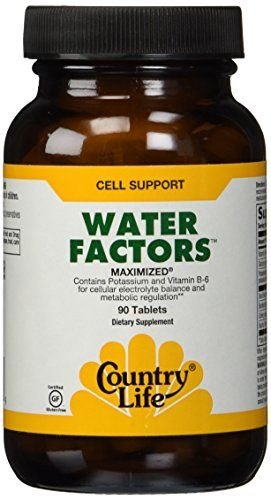 Country Life Water Factors, 90-Count * Visit the image link more details.