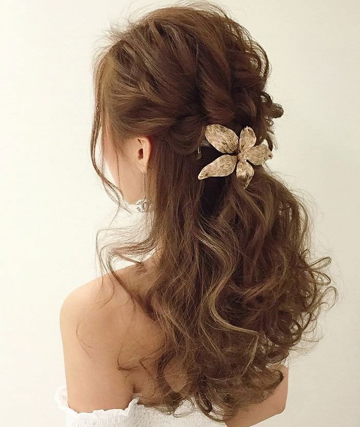 23 Gorgeous Half Up Wedding Hair Ideas: 25+ Best Ideas About Casual Wedding Hairstyles On