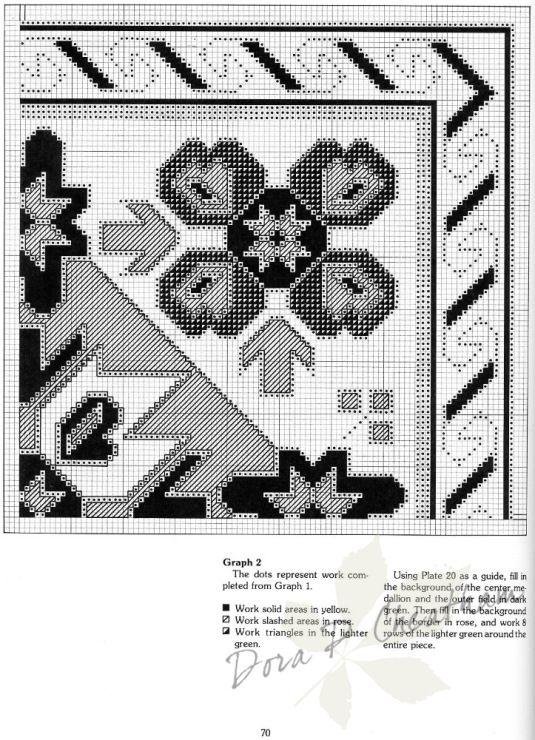 Gallery.ru / Фото #32 - Needlepoint Designs from Oriental Rugs - Dora2012