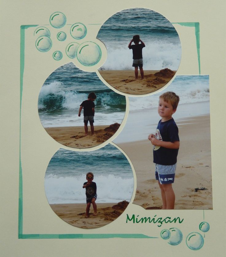 Le scrapbooking de Carole - Mes pages de scrap                                                                                                                                                      Plus