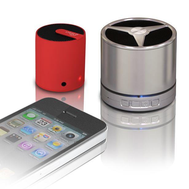ORBI  e ORBI Light  Caixa de som portátil e sem fio. Som de alta qualidade na palma da sua mão.