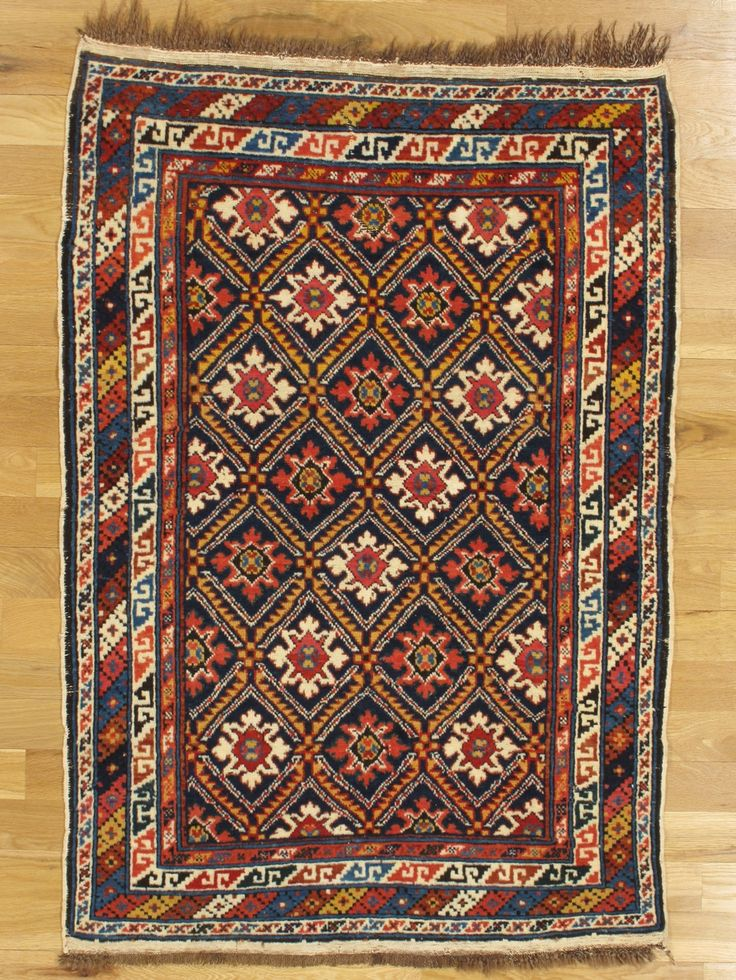 Derbent Rug From Eastern Caucasus Age Circa 1885 Size 4 10