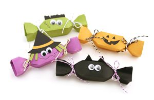 Emballages façon bonbon pour #halloween
