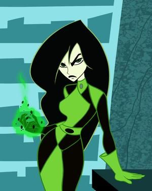 Shego, my second favorite smart-ass brunette