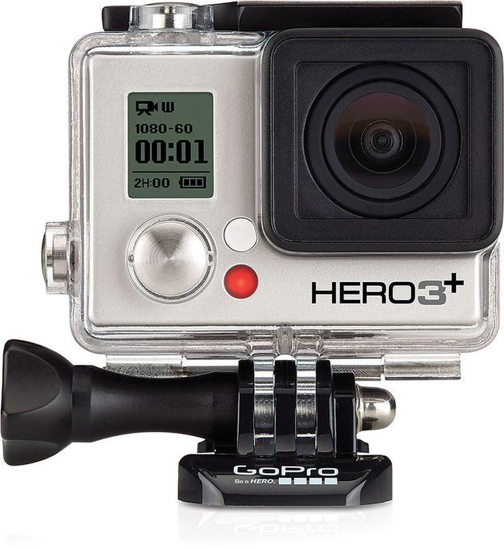 It's better to show than tell—GoPro HERO3+ Silver Edition Helmet Cam.