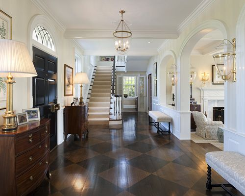 From Scull and Oars tumblr: Decor, Interior, Ideas, Floors, Dream, House, Design, Entryway