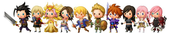 Jam With Theatrhythm Final Fantasy Curtain Call Songs From Final Fantasy VIII To FFXIV Gallery | Siliconera