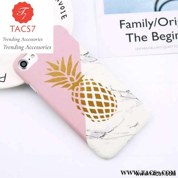 Pineapple Marble Phone Case For iPhone 8 8 Plus iPhone X Wallpaper 823314375607530209 1
