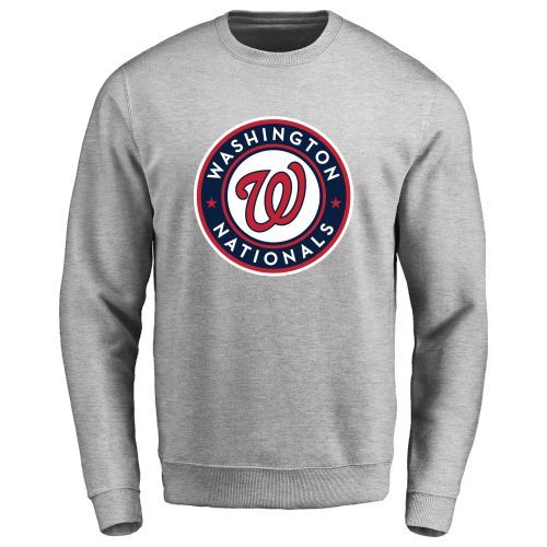 Men's Washington Nationals Design Your Own Crewneck Sweatshirt