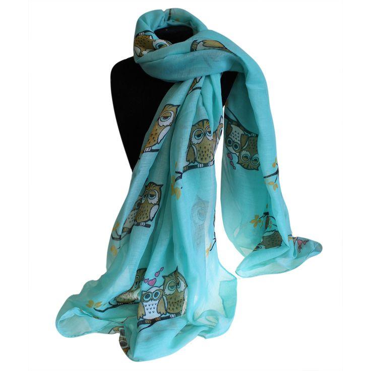 Sleepy Owls Scarves Wholesale - hipangels.com #Scarves_Wholesale_Owls #Wholesale_Scarves_Colourful  #Scarves_Hip_Angels #Wholesale_Scarves_Large #Scarves_Wholesale_Outfit #Outfit_Scarves_Wholesale
