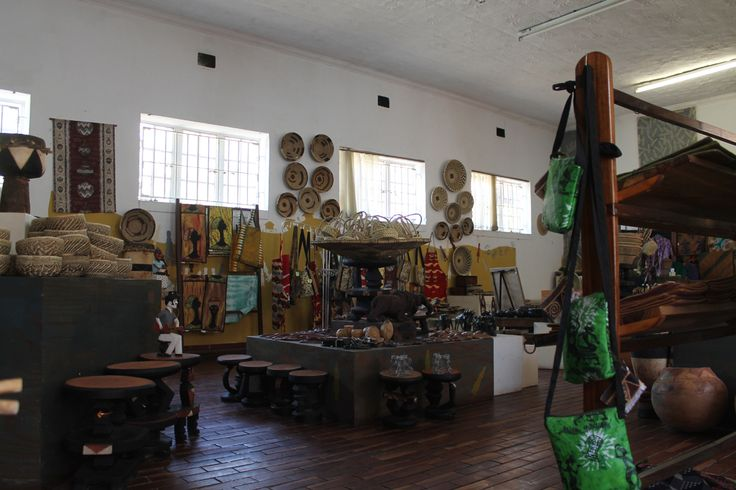 Choma Museum displaying local handcraft