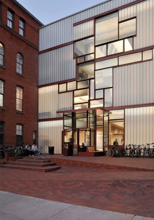 Pratt Institute Higgins Hall Insertion Steven Holl Architects When I Attended Pratt That Space