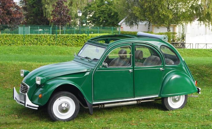 2CV - 289 euros forfait 4heures avec chauffeur