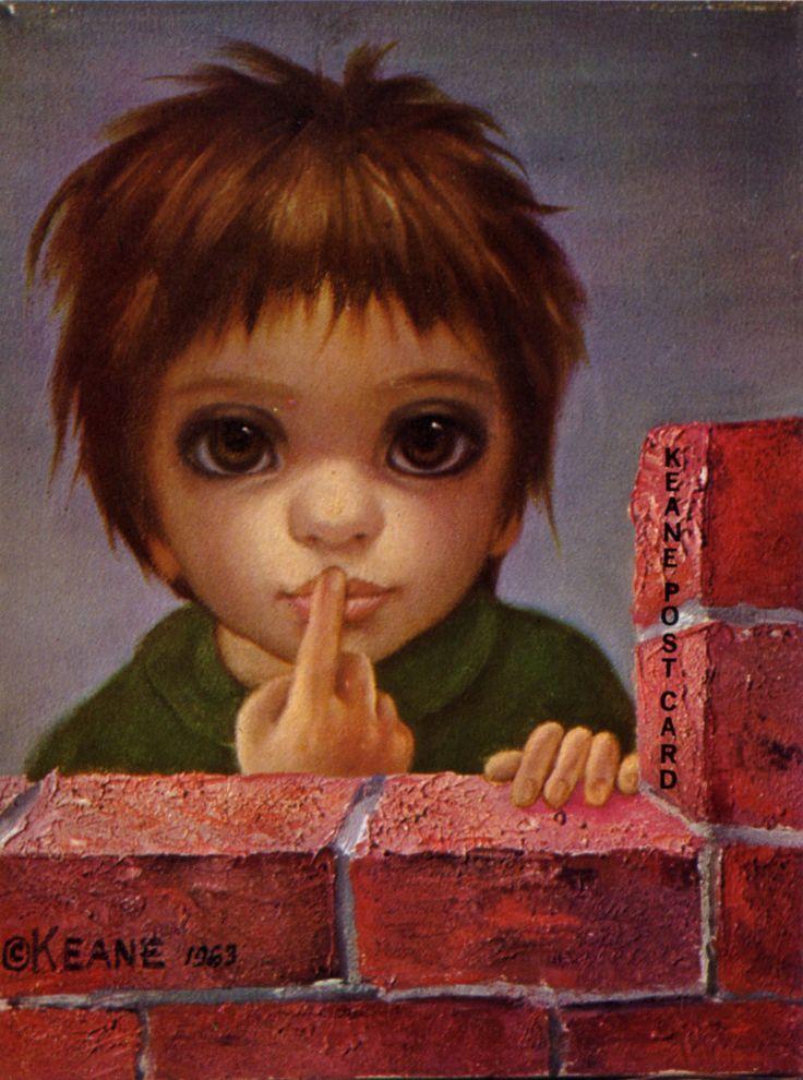 Big Eye Paintings by Keane   ... Keane, the antihero of Burton's upcoming Big Eyes . (Above