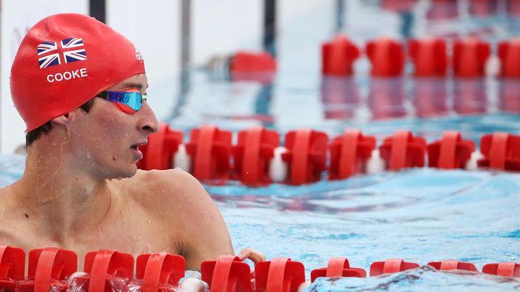 GB's Cooke sets new Olympic record in modern pentathlon swim