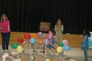 bridging ceremony ideas. No helium!